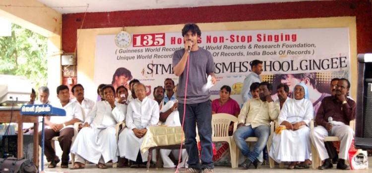 B Rahiman Singing World Record
