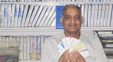 brejesh_garg_business_visiting_card_collection_world_record