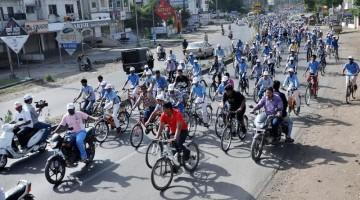 ATV_Bicycle_Relly_Ahmednagar_World_Record