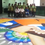 Longest_Theam_Rangoli_World_Record_Marwadi_Colleage_Rajkot