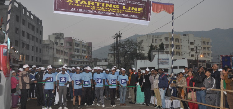 Girnar Marathon Running Junagadh
