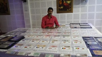 nandu_m_Currency_notes_collection_world_record