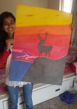 Shruti_Gugale_Painting_Ahmednagar_world_record