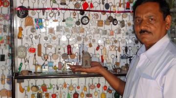 RAKESH_VAID_KEY_CHAIN_COLLECTION_WORLD_RECORDS_INDIA