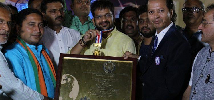 Rutvij_Patel_World_Record_BJP_India