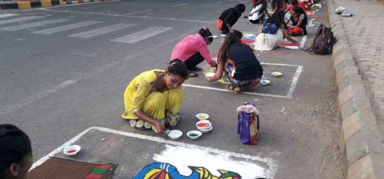 Rajkot_Rangoli_Record_Municipality_Diwali_Carnival
