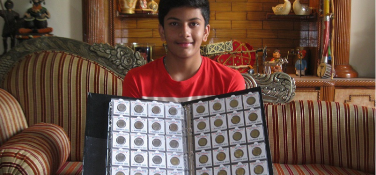 Yash_Jain_Udaipur_1_Rupee_Coin_Collection_World_Records