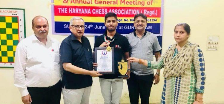 Punit_Indora_Chess_Champion_Haryana_World_Record