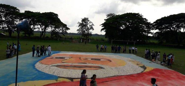 Dipu_Bora_Narendra_Modi_Painting_Dibrugarh_Assam_World_Records_India