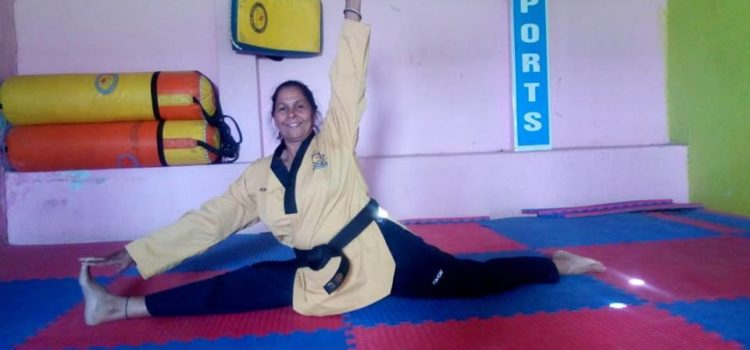 Tarawati_oldest_Takewando_student