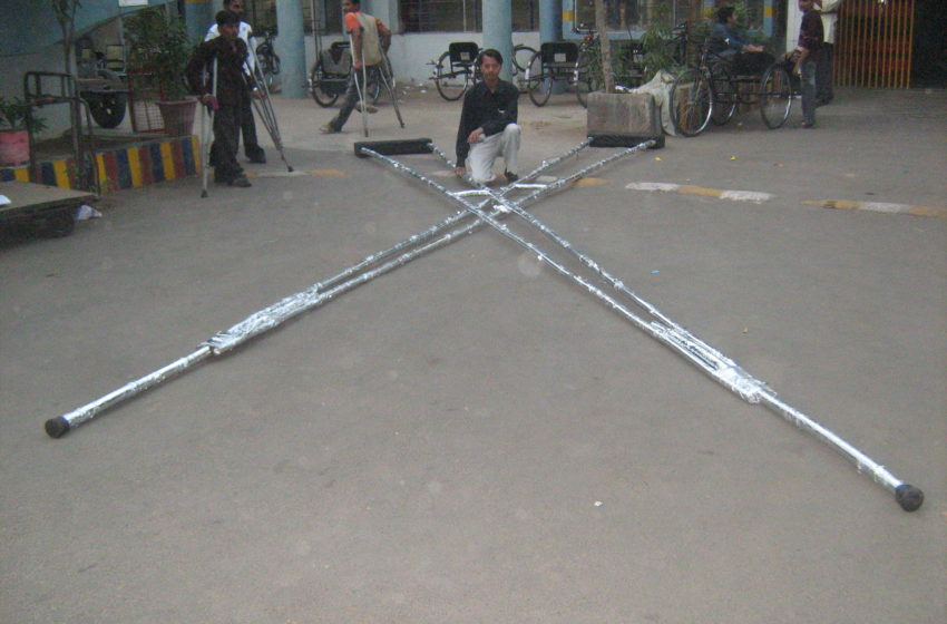 WORLD LARGEST CRUTCHES