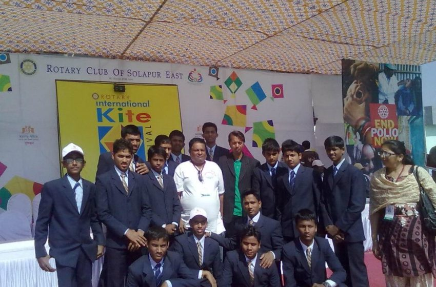 MOST NUMBER OF STUDENT IN KITE MAKING WORKSHOP