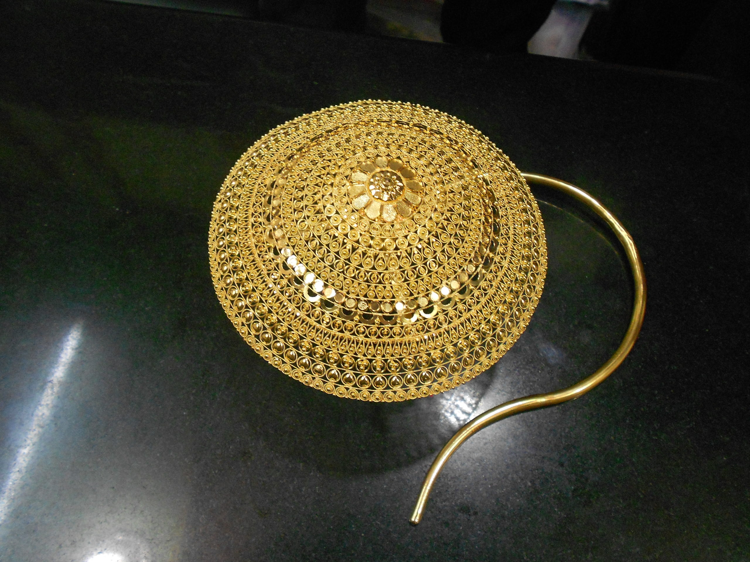 World S Largest Gold Nose Pin Jewellery World Records India