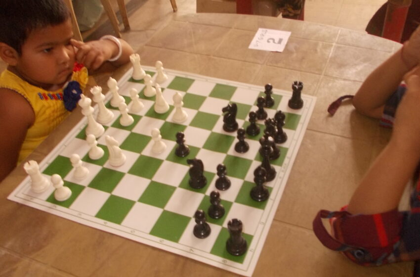 YOUNGEST PLAYER IN CHESS TOURNAMENT