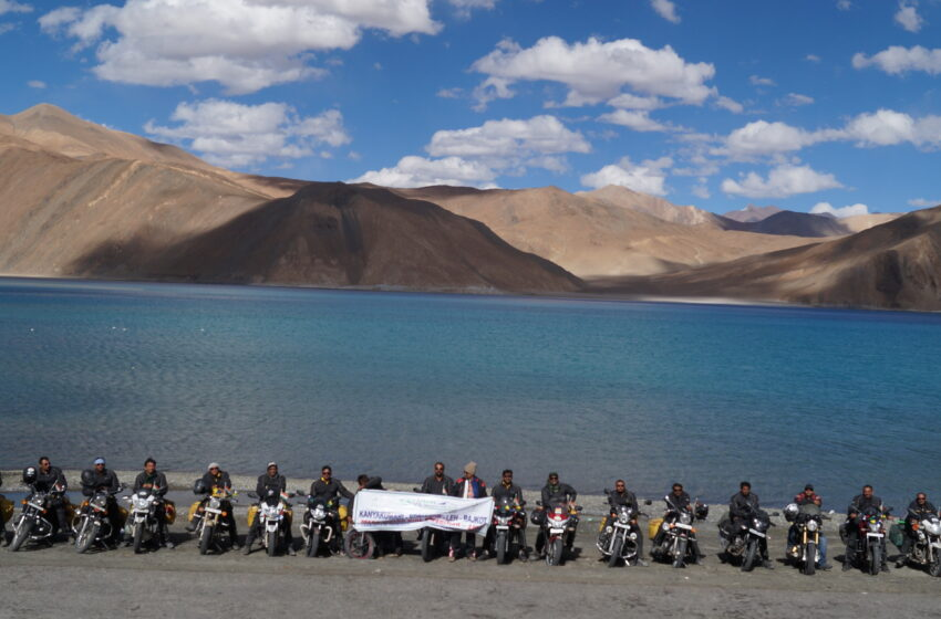 FASTEST MOTOR BIKE EXPEDITION BY GROUP