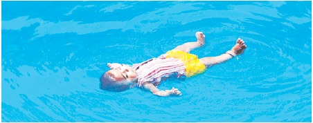 YOUNGEST SWIMMER