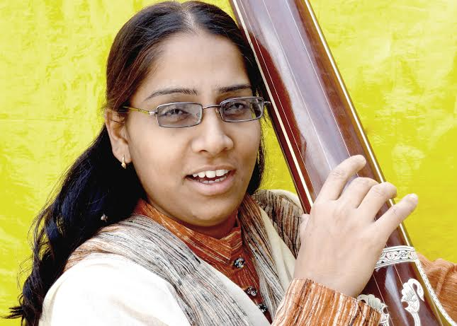 FIRST & ONLY FEMALE PRESERVING MUSICIAN OF HAVELI SANGEET HERITAGE
