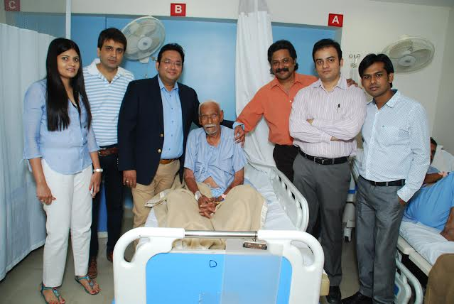 OLDEST PERSON TO UNDERGO PROSTATE SURGERY