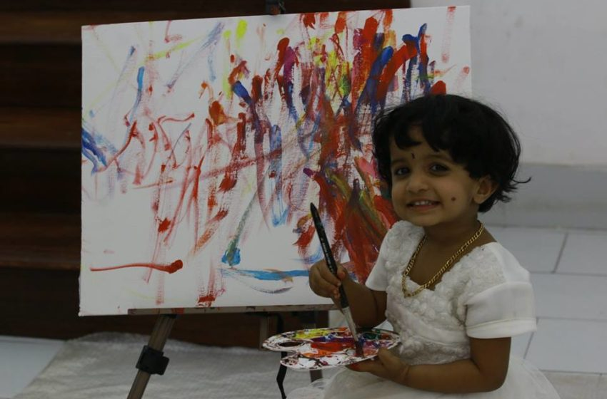 YOUNGEST PAINTER