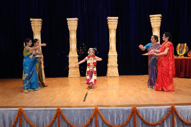 YOUNGEST DANCER TO PERFORM SOLO CONVENTIONAL BHARATNATYAM ARANGETRAM