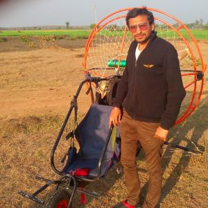 INDIA'S YOUNGEST PARAMOTORING PILOT (LICENSED)
