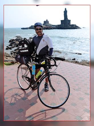 FASTEST SOLO NORTH TO SOUTH GEARLESS BICYCLE EXPEDITION