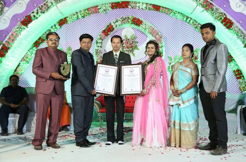 FIRST EVER BLOOD DONATION CAMP IN MARRIAGE CEREMONY