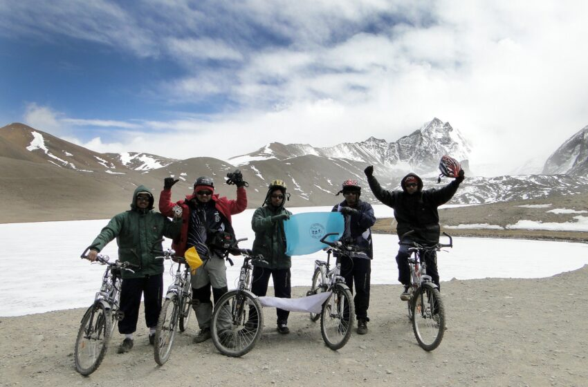 HIGH ALTITUDE LAKE CYCLING EXPEDITION