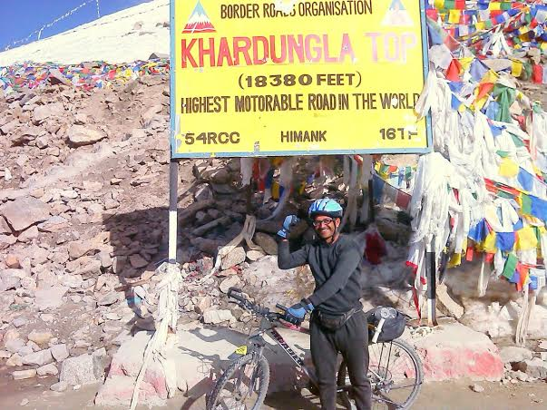 LONGEST SOLO BICYCLE EXPEDITION TO SUPPORT ENVIRONMENT