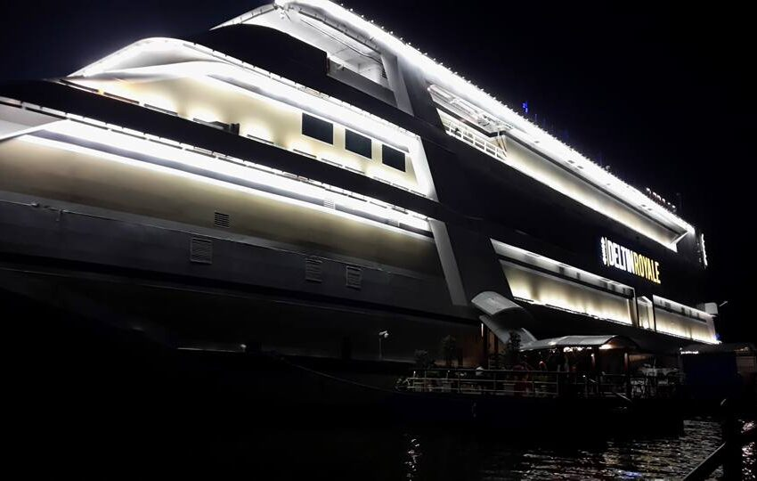 LARGEST & MOST LUXURIOUS FLOATING CASINO