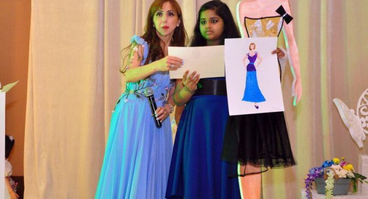 YOUNGEST FASHION DESIGNER (GIRL)