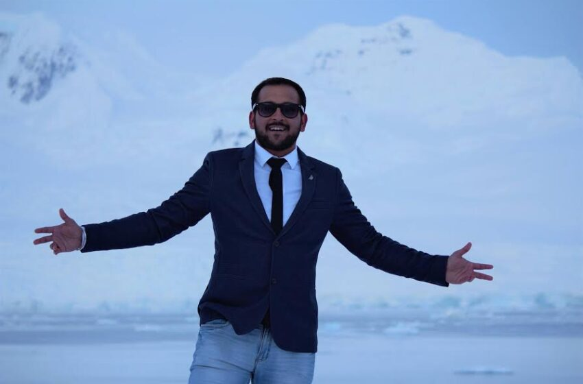 YOUNGEST INDIAN TO TRAVEL ALL 7 CONTINENTS WITH A FULL TIME JOB.