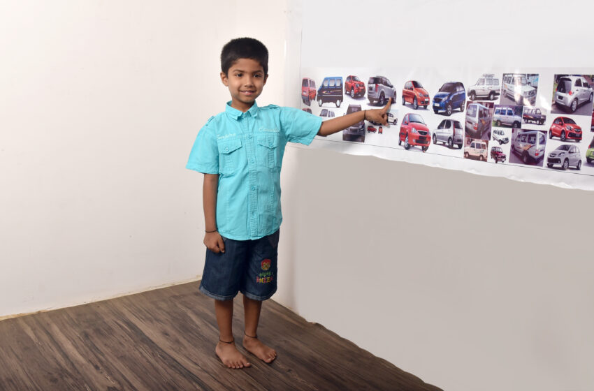 YOUNGEST TO RECOGNIZE MOST CAR MODELS IN A MINUTE