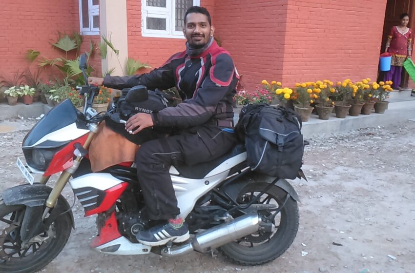 'MOST TRANSNATION MOTORCYCLE EXPEDITION'