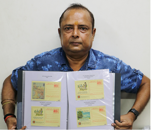 LARGEST COLLECTION OF DIFFERENT MEGHDOOT CARDS ISSUED BY INDIA POST