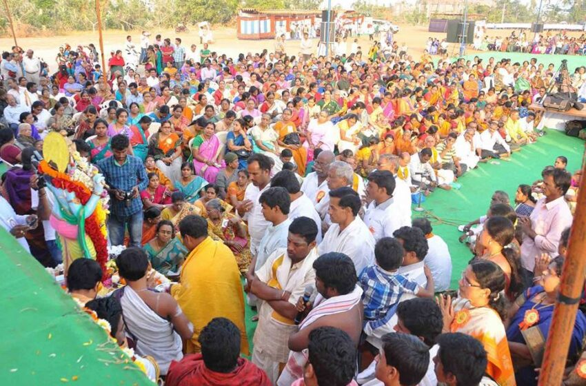 MOST PEOPLE WROTE MANTRA AND CHANTING ON SINGLE VENUE