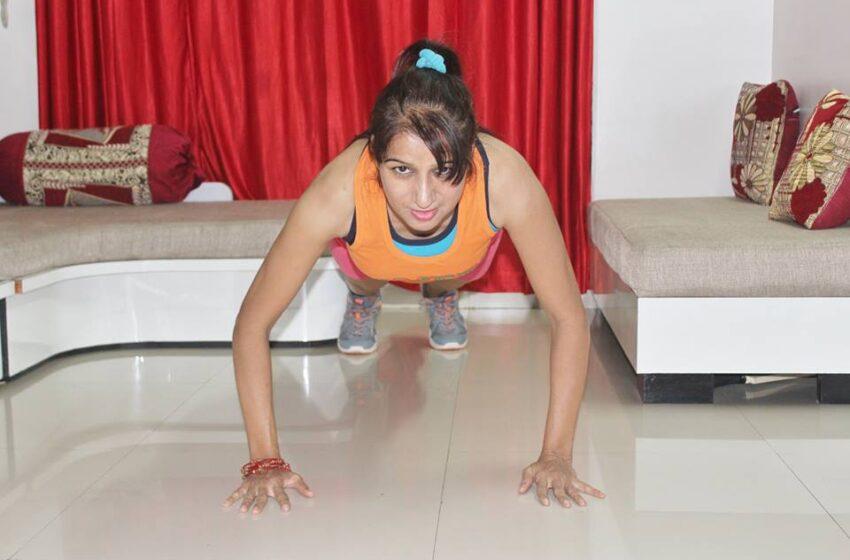 NON STOP HIGH KNEE JOGGING EXERCISE