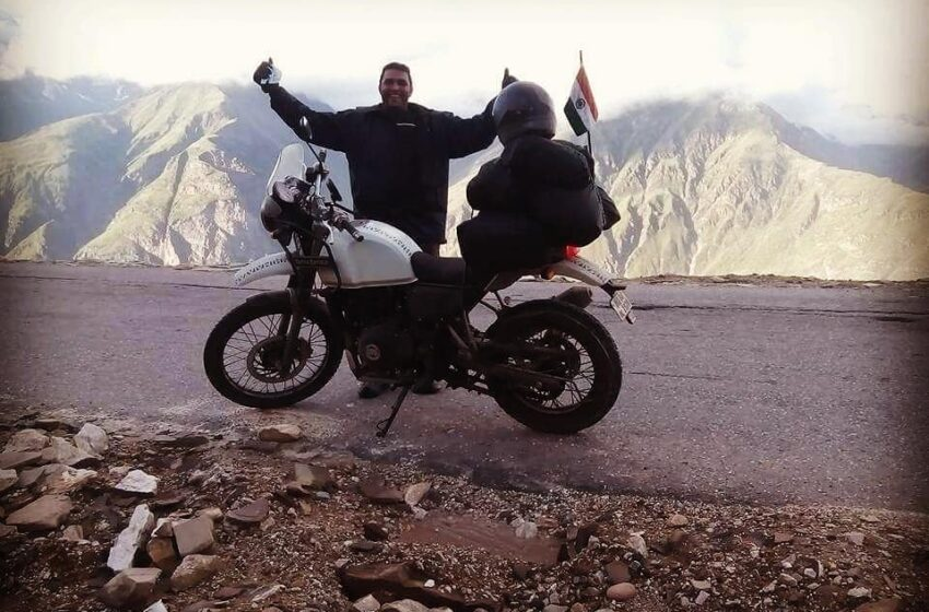 FIRST AND FASTEST RIDER IN INDIA TO COVER FOUR CORNERS OF INDIA BY ROAD