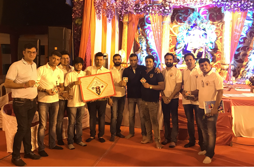 LONGEST TRAFFIC AWARENESS CAMPAIGN IN GANESHA PANDAL