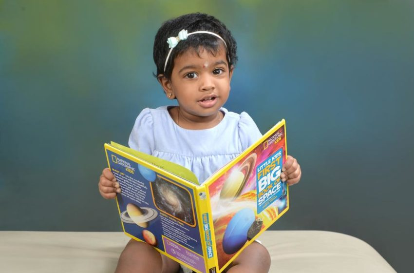 YOUNGEST TO RECITE SOLAR SYSTEM AND PLANETS
