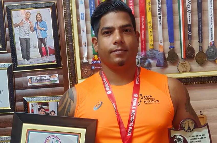 YOUNGEST TO PARTICIPATE IN MAXIMUM MARATHON