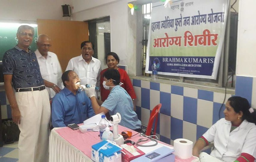 MAXIMUM TIME TO ORGANIZED MONTHLY FREE MEDICAL CAMPS