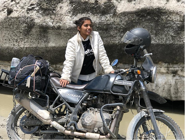 YOUNGEST MOTORCYCLE RIDER TO RIDE ON HIGHEST MOTORABLE ROAD