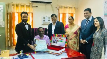 WORLD'S FIRST PROPERTY SALE DEED ON CLOTH