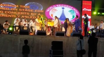 MAXIMUM TIME TO PERFORMED ON-STAGE FOR SINGING CONCERTS BY AS DIFFERENTLY ABLED
