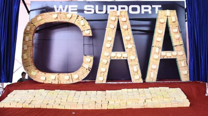 LARGEST AWARENESS CAMPAIGN TO SUPPORT CAA AMENDMENT BILL
