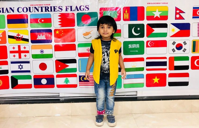 YOUNGEST TO RECOGNISE FLAGS AND RECITE CAPITALS OF ASIAN COUNTRIES TOGETHER IN MINIMAL TIME