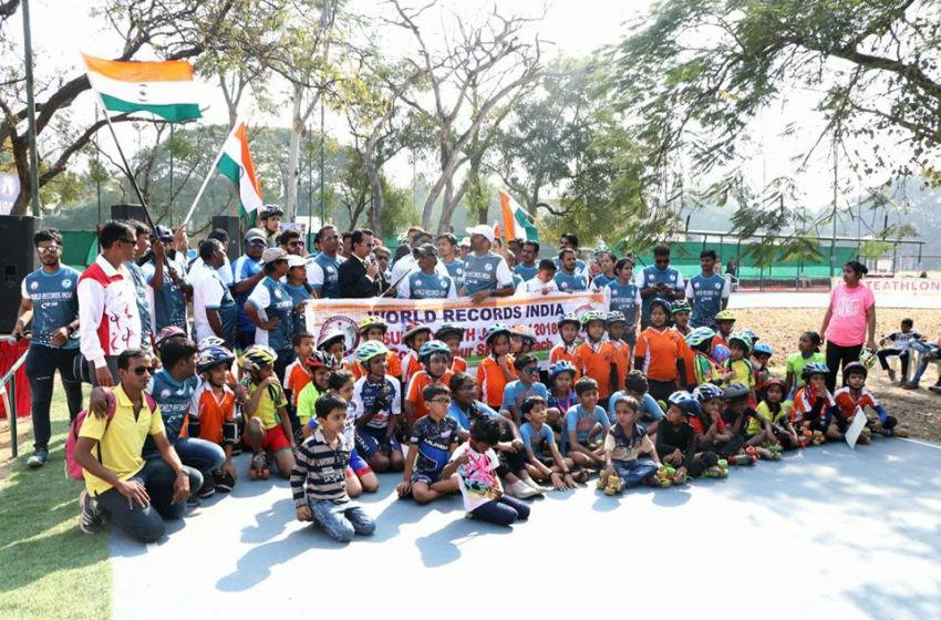 MOST STUDENTS PERFORMED 2KM SKATING BY WAVING FLAG IN HAND (MULTIPLE VENUE)