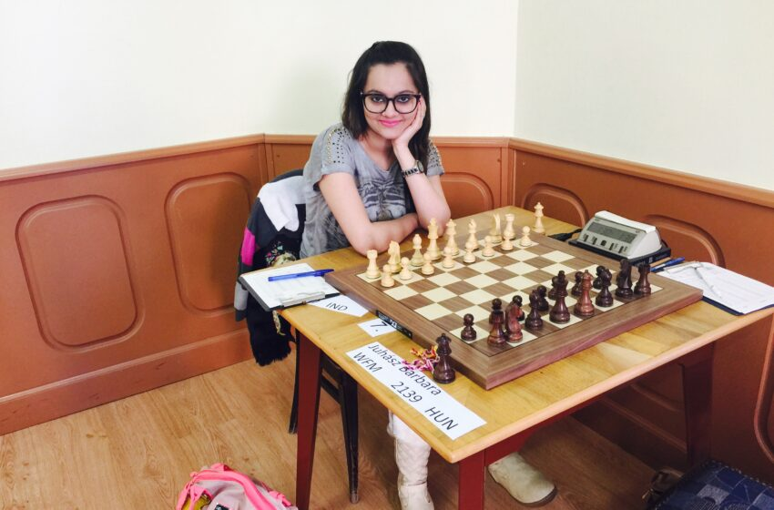 FIRST INDIAN GIRL TO PLAYED MAXIMUM CHESS TOURNAMENTS