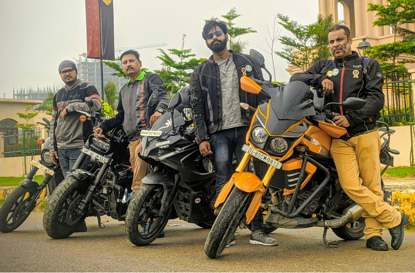 FASTEST GROUP MOTORBIKE EXPEDITION ON ROAD IN 24 HOURS